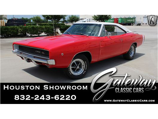 1968 Dodge Charger for sale in Houston, Texas 77090