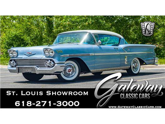 1958 Chevrolet Impala for sale in OFallon, Illinois 62269