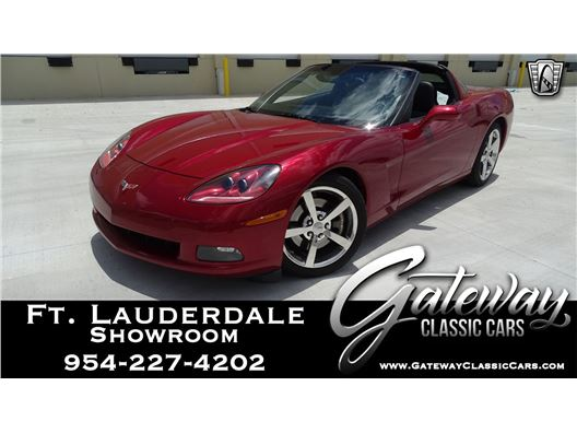2008 Chevrolet Corvette for sale in Coral Springs, Florida 33065