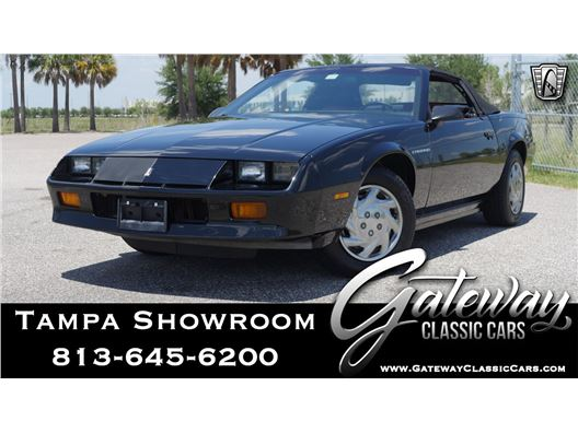 1987 Chevrolet Camaro for sale in Ruskin, Florida 33570