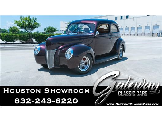 1940 Ford Tudor for sale in Houston, Texas 77090