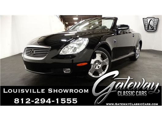 2002 Lexus SC for sale in Memphis, Indiana 47143