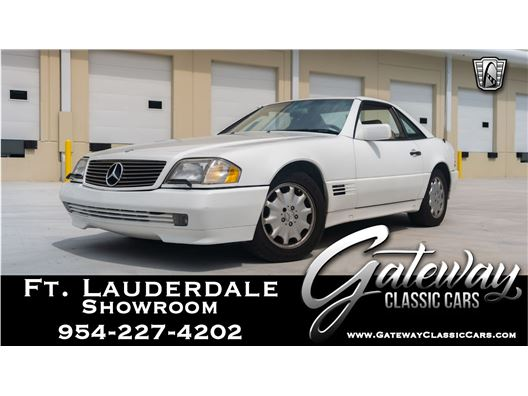1995 Mercedes-Benz SL320 for sale in Coral Springs, Florida 33065