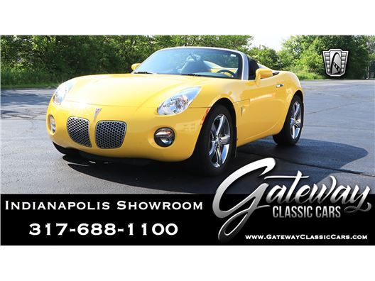 2009 Pontiac Solstice for sale in Indianapolis, Indiana 46268