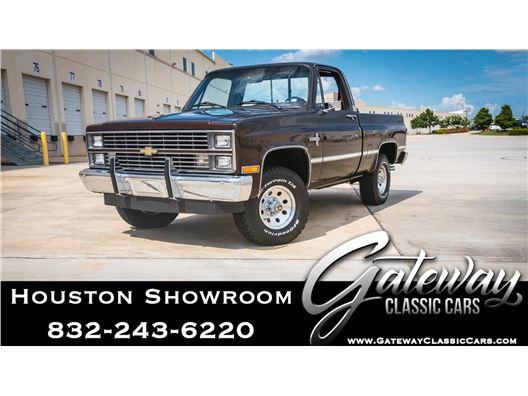 1984 Chevrolet K10 for sale in Houston, Texas 77090