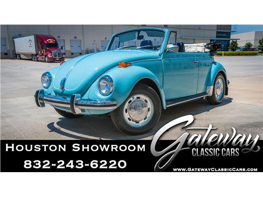 1972 Volkswagen Super Beetle for sale in Houston, Texas 77090