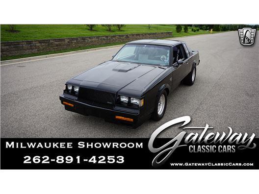 1987 Buick Grand National for sale in Kenosha, Wisconsin 53144