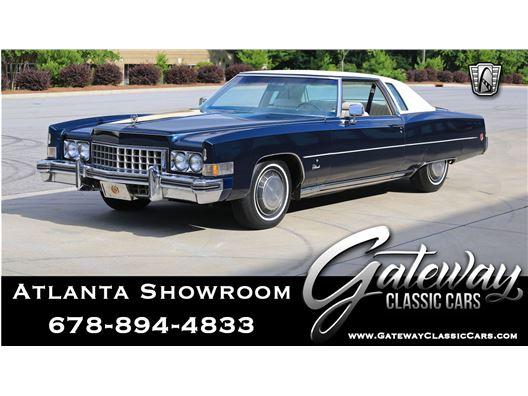 1973 Cadillac Eldorado for sale in Alpharetta, Georgia 30005