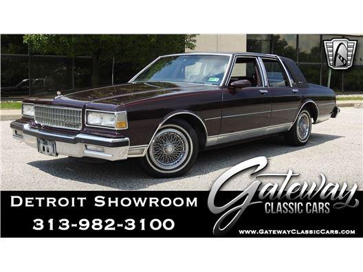 1989 Chevrolet Caprice for sale in Dearborn, Michigan 48120