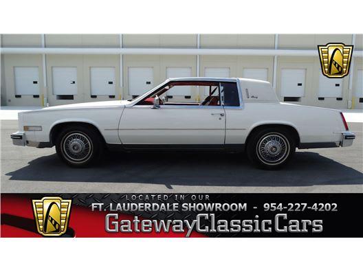 1985 Cadillac Eldorado for sale in Coral Springs, Florida 33065