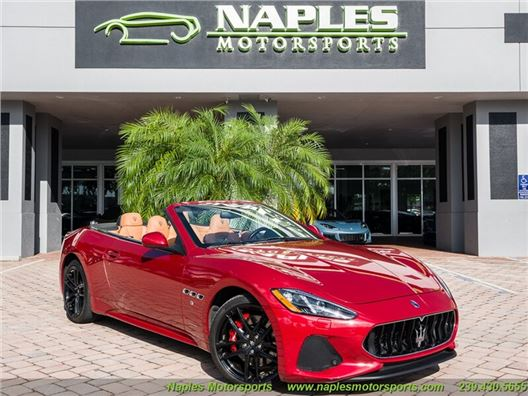 2018 Maserati Gran Turismo Sport Cabriolet for sale in Naples, Florida 34104