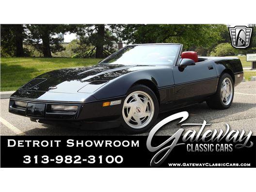 1988 Chevrolet Corvette for sale in Dearborn, Michigan 48120