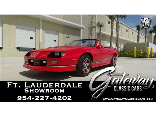 1989 Chevrolet Camaro for sale in Coral Springs, Florida 33065