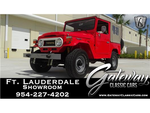 1978 Toyota FJ40 for sale in Coral Springs, Florida 33065