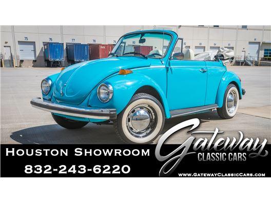 1976 Volkswagen Super Beetle for sale in Houston, Texas 77090