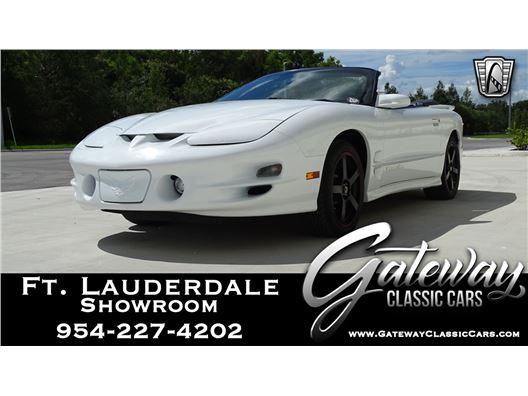 2000 Pontiac Firebird for sale in Coral Springs, Florida 33065