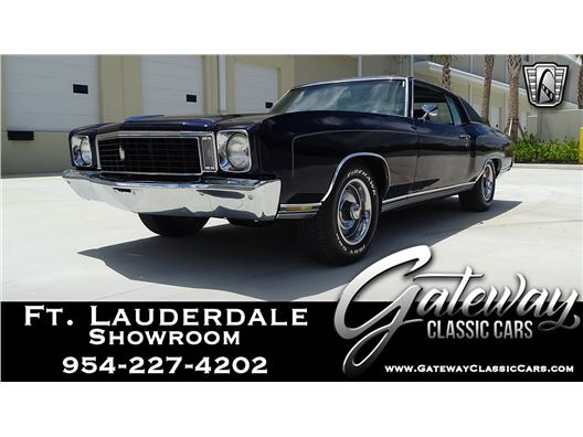 1972 Chevrolet Monte Carlo for sale in Coral Springs, Florida 33065