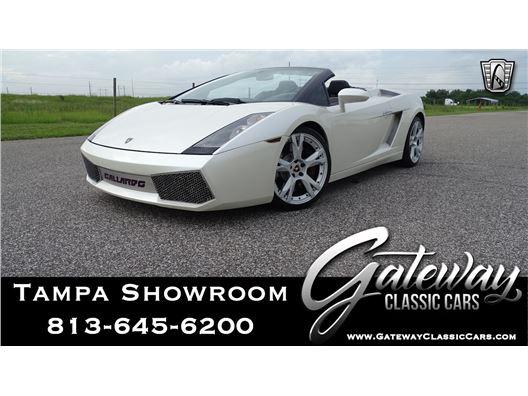 2008 Lamborghini Gallardo for sale in Ruskin, Florida 33570
