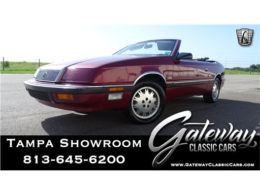 1989 Chrysler LeBaron for sale in Ruskin, Florida 33570