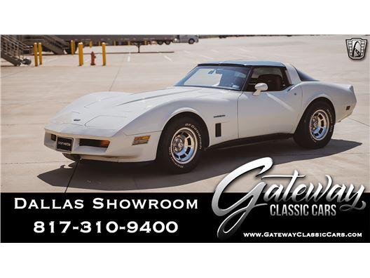 1982 Chevrolet Corvette for sale in DFW Airport, Texas 76051