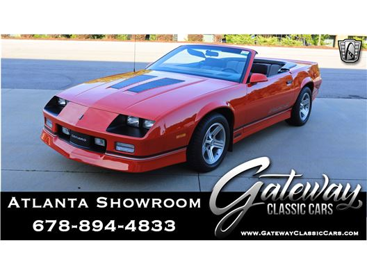 1990 Chevrolet Camaro for sale in Alpharetta, Georgia 30005