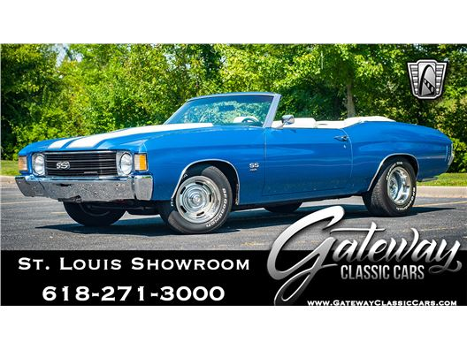 1972 Chevrolet Chevelle for sale in OFallon, Illinois 62269