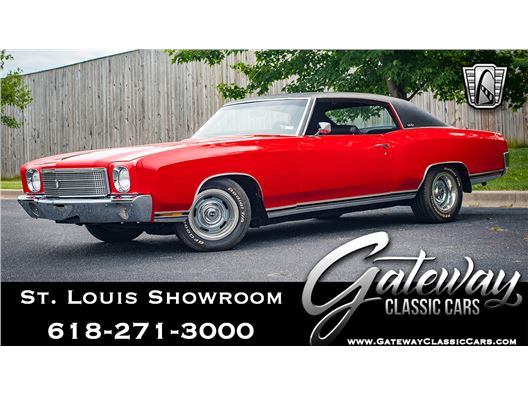 1970 Chevrolet Monte Carlo for sale in OFallon, Illinois 62269