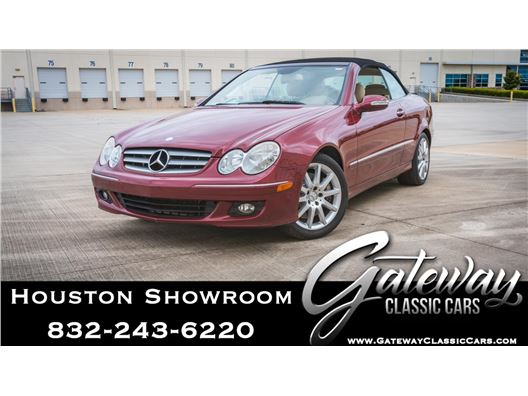 2007 Mercedes-Benz CLK 350 for sale in Houston, Texas 77090