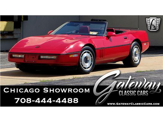 1987 Chevrolet Corvette for sale in Crete, Illinois 60417