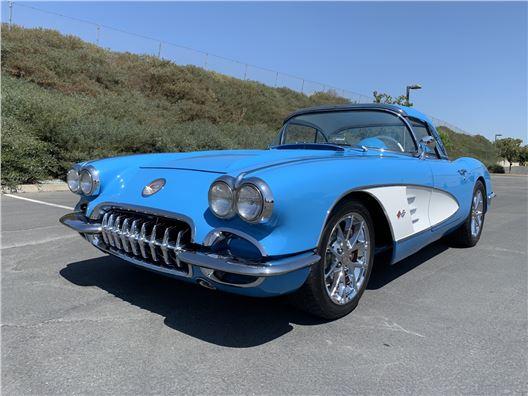 1958 Chevrolet Corvette for sale in Benicia, California 94510
