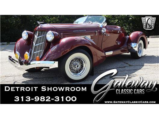 1935 Auburn Speedster for sale in Dearborn, Michigan 48120