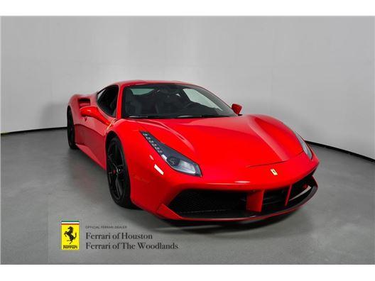 2018 Ferrari 488 GTB for sale in Houston, Texas 77057