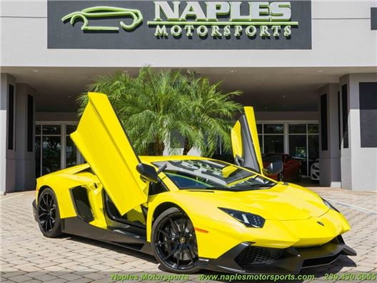 2014 Lamborghini Aventador LP 720-4 for sale in Naples, Florida 34104