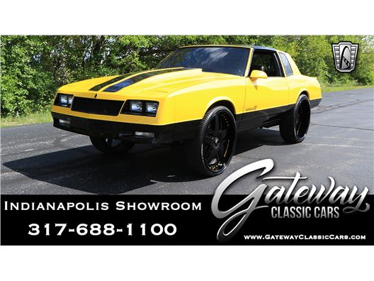1988 Chevrolet Monte Carlo for sale in Indianapolis, Indiana 46268