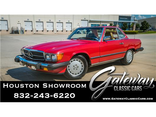 1989 Mercedes-Benz 560SL for sale in Houston, Texas 77090