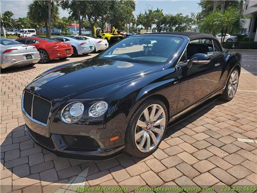 2014 Bentley Continental GT V8 S for sale in Naples, Florida 34104