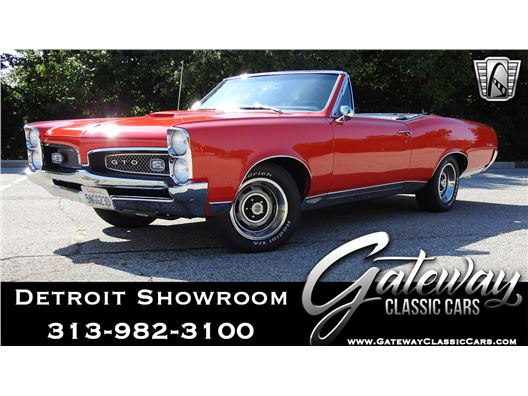 1967 Pontiac GTO for sale in Dearborn, Michigan 48120