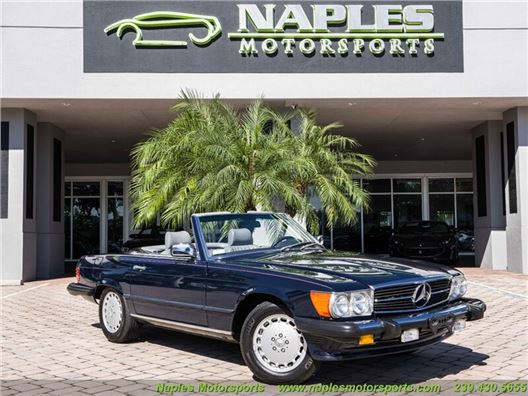 1988 Mercedes-Benz 560-Class 560 SL for sale in Naples, Florida 34104
