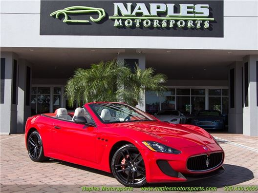 2014 Maserati Gran Turismo MC Cabriolet for sale in Naples, Florida 34104