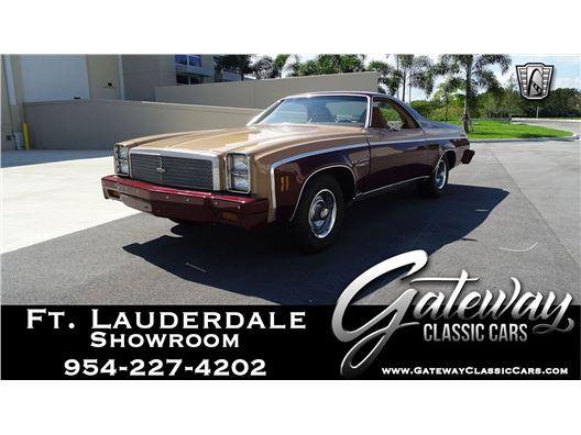 1977 Chevrolet El Camino for sale in Coral Springs, Florida 33065