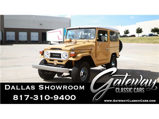1978 Toyota FJ40 for sale in DFW Airport, Texas 76051