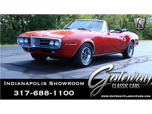 1967 Pontiac Firebird for sale in Indianapolis, Indiana 46268