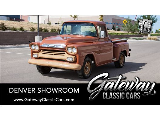 1959 Chevrolet Apache Pickup Truck for sale in Englewood, Colorado 80112