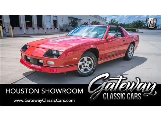 1986 Chevrolet Camaro for sale in Houston, Texas 77090