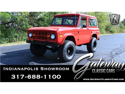 1971 Ford Bronco for sale in Indianapolis, Indiana 46268