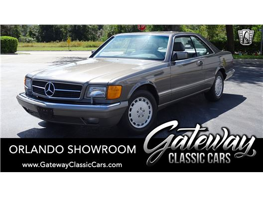 1986 Mercedes-Benz 560SEC for sale in Lake Mary, Florida 32746