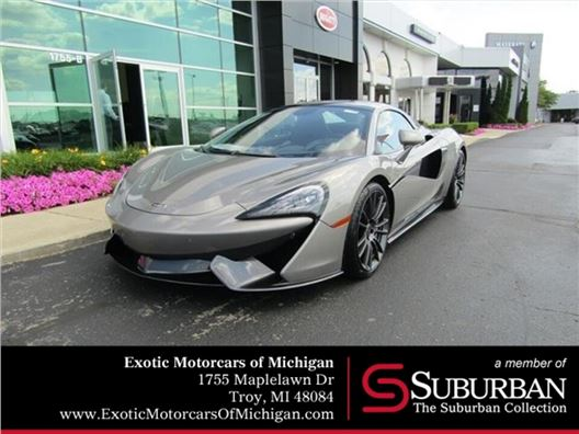 2018 McLaren 570S Spider for sale in Troy, Michigan 48084