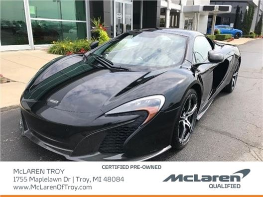 2016 McLaren 650S Spider for sale in Troy, Michigan 48084