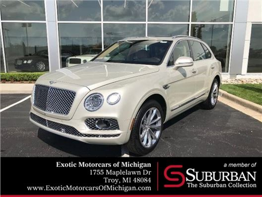 2019 Bentley Bentayga for sale in Troy, Michigan 48084