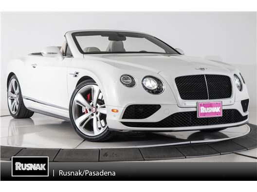 2016 Bentley Continental GTC for sale in Pasadena, California 91105